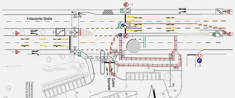 Verkehrssicherungs Plan